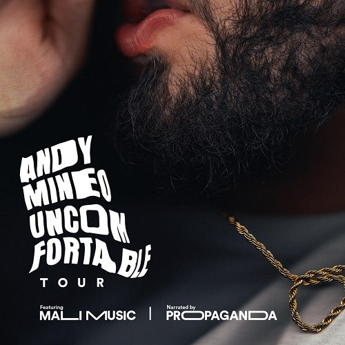 Andy Mineo Announces Uncomfortable Tour The Meltdown Music